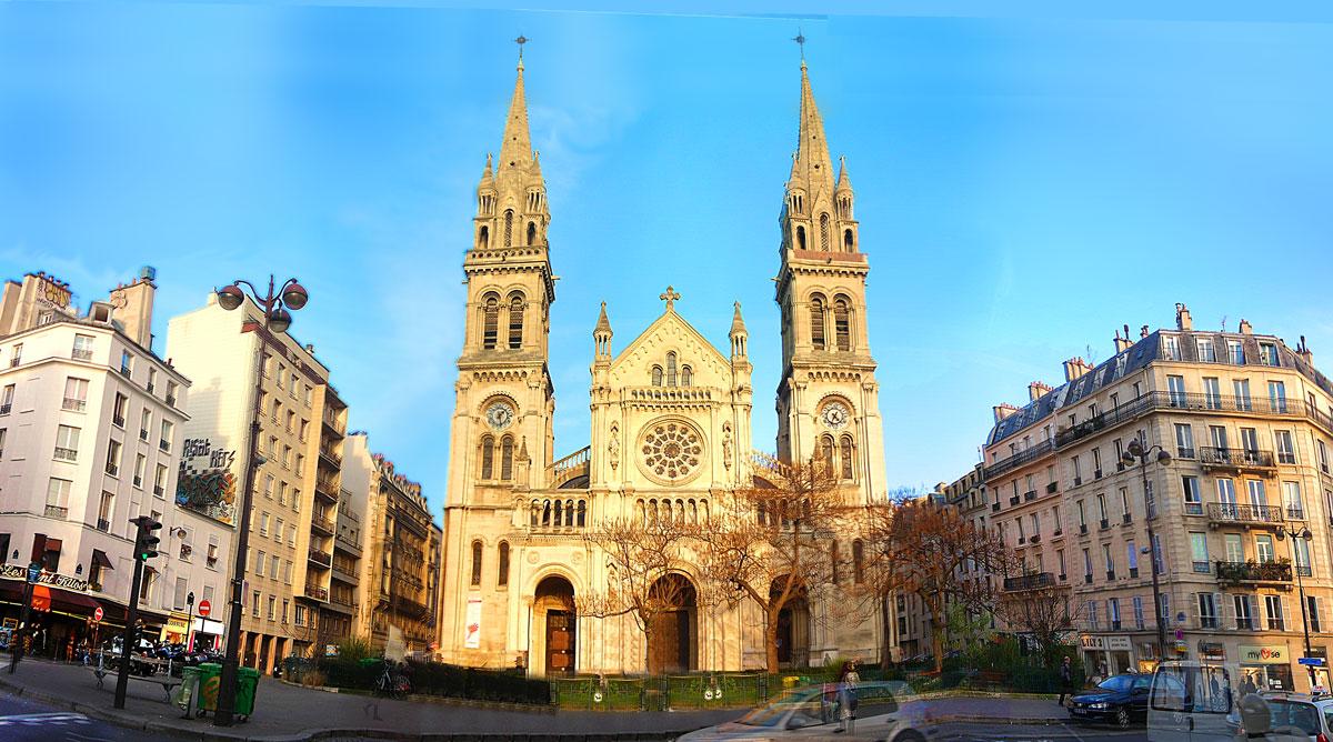 Saint-Ambroise, Церкви Парижа, достопримечательности Парижа, Париж, путеводитель по Парижу, что посмотреть в Париже